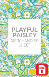 Playful Paisley Collection